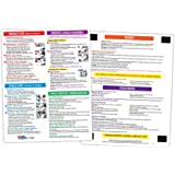 Infant / Child CPR, Choking, Poisoning, Burn, and Dental Emergencies First Aid Instructions- Laminated Card with Magnets - 8.