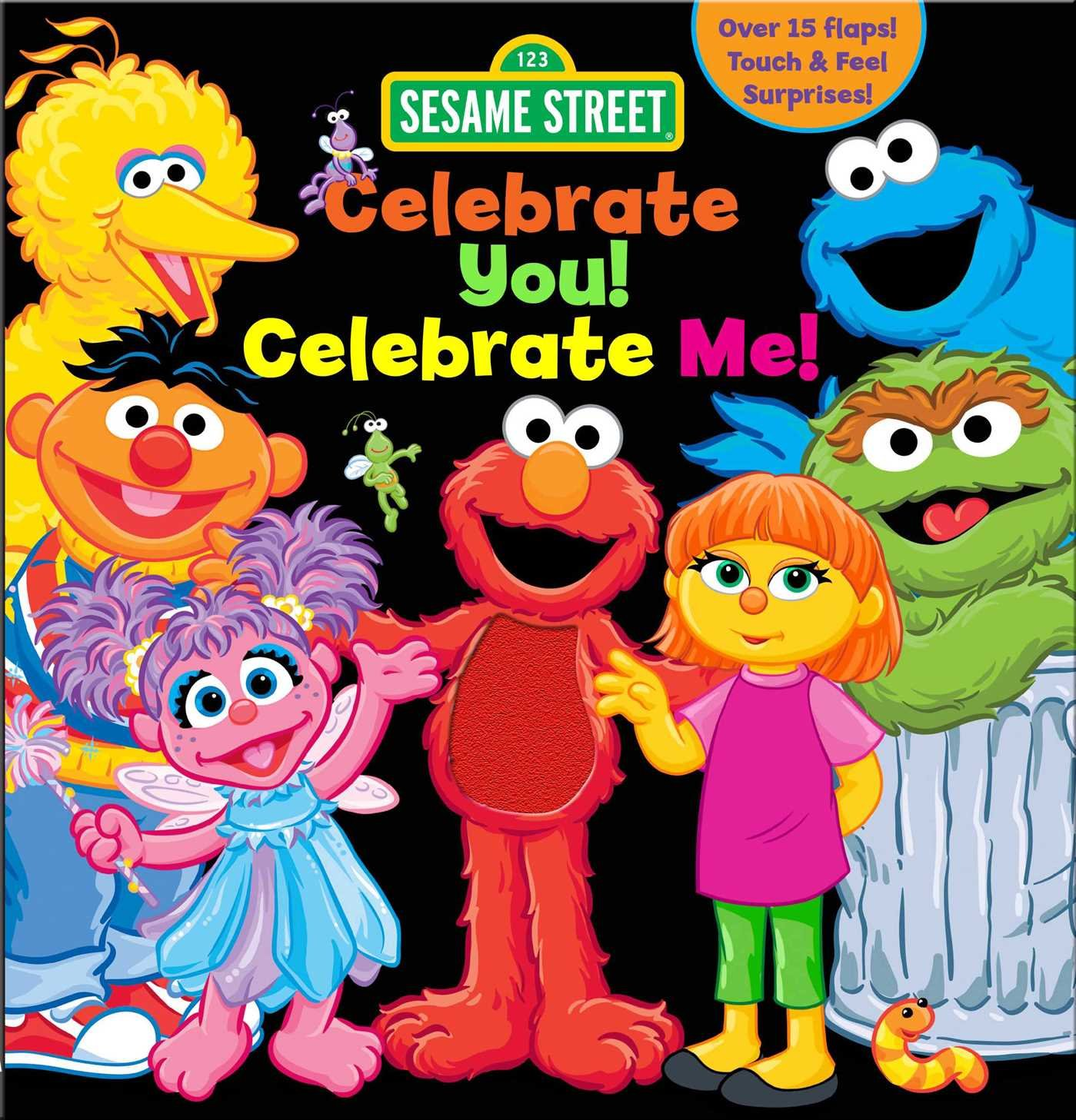 Read Online Sesame Street: Celebrate You! Celebrate Me!: A Peek and Touch Book (123 Sesame Street) pdf