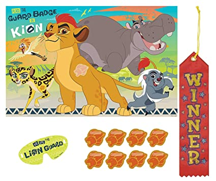 Amazon.com: Lion Guard Pin The Tail on The Donkey Style ...