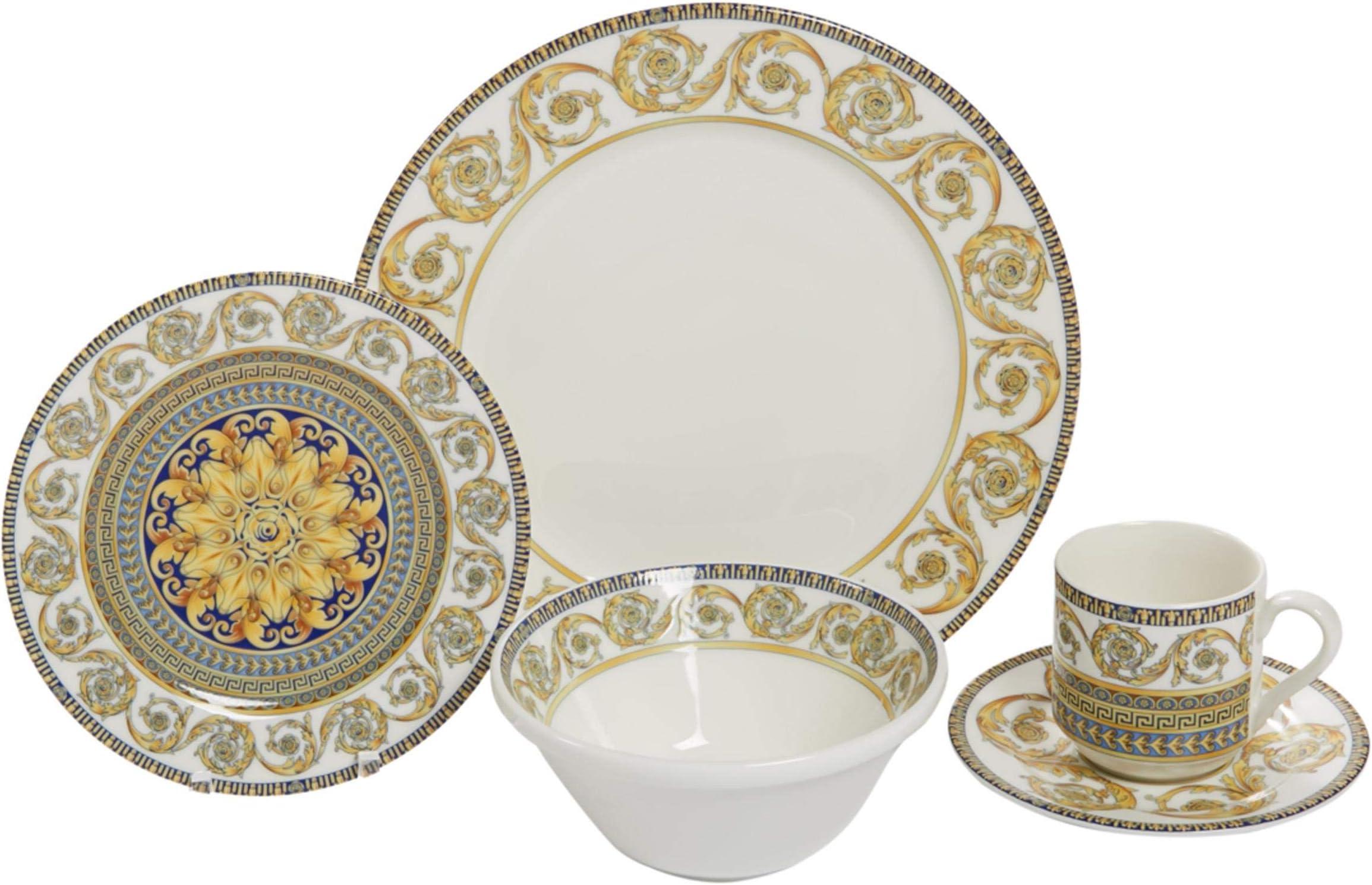 Elegance 7 Piece Dinner Set Porcelain price in UAE  Amazon UAE