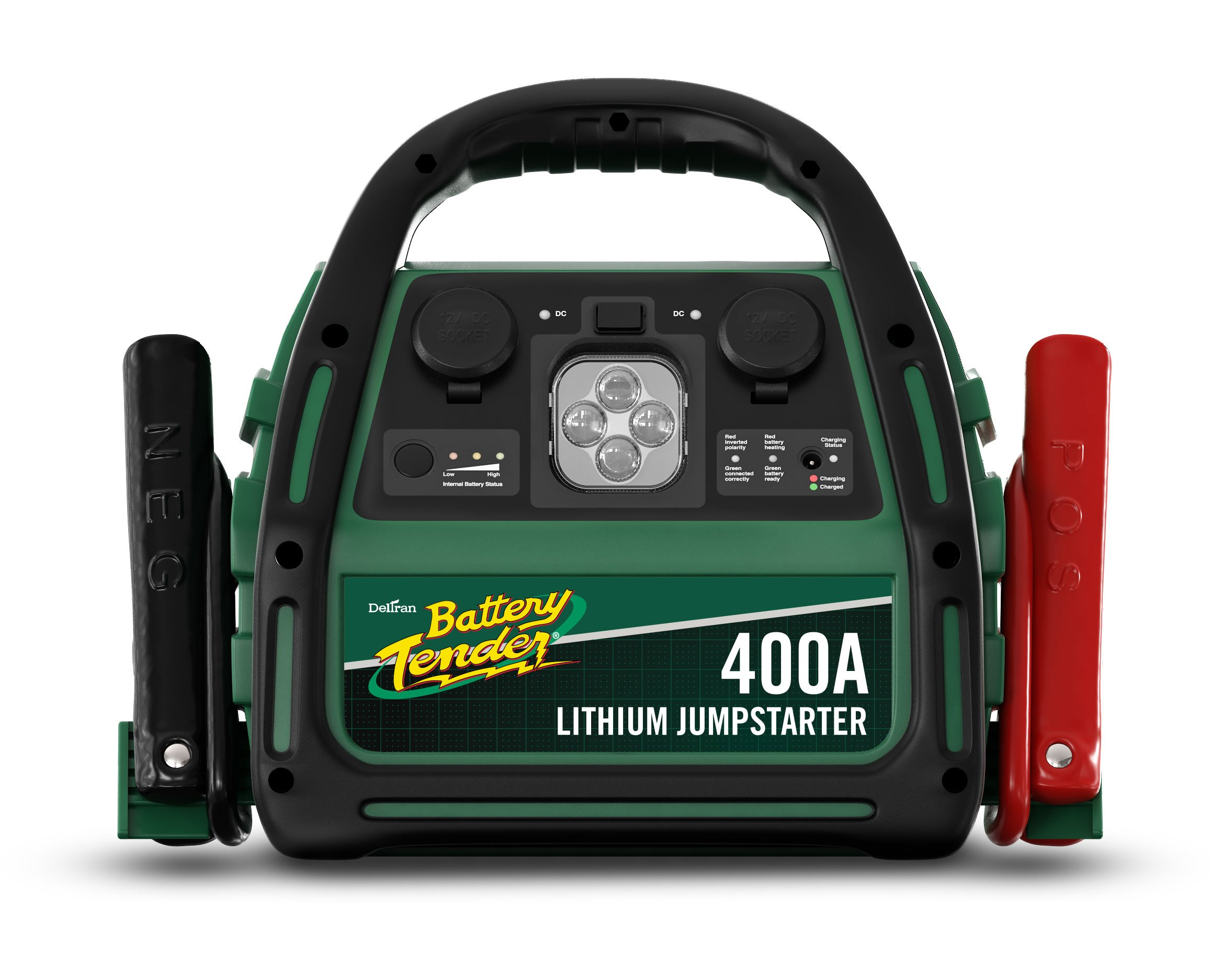 400 Amp Lithium Ion Jump Starter can Start Your Dead Battery, It's Light Weight, Efficient in Charge and has 4X Longer Internal Battery Life