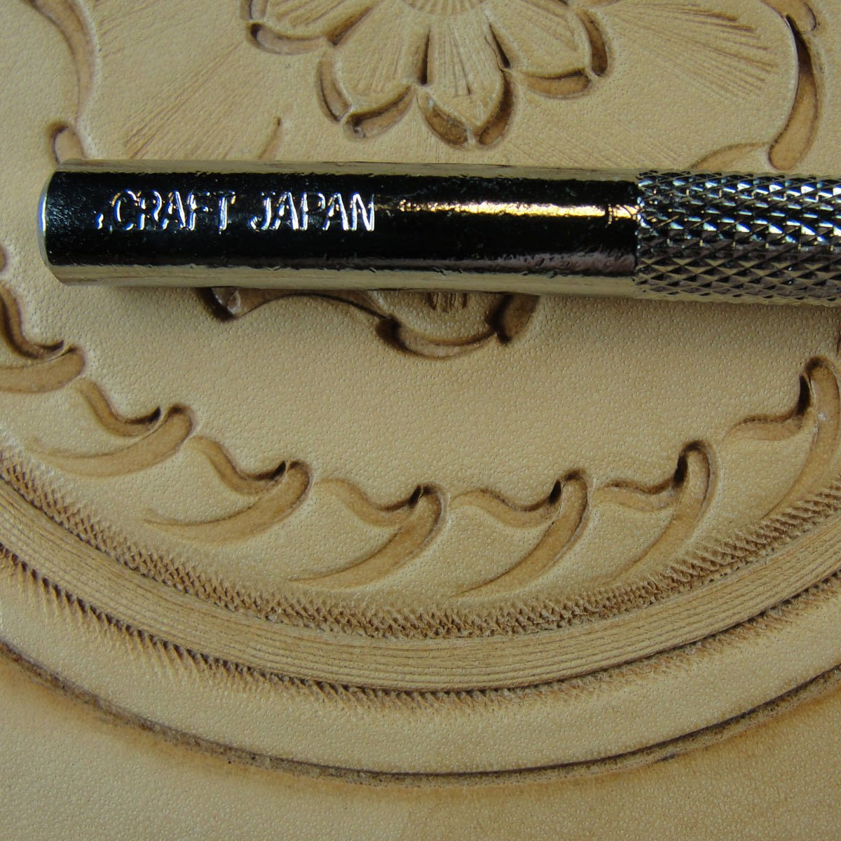 Steel Craft Japan Leather Tool #F995 Smooth Matting Background Stamp