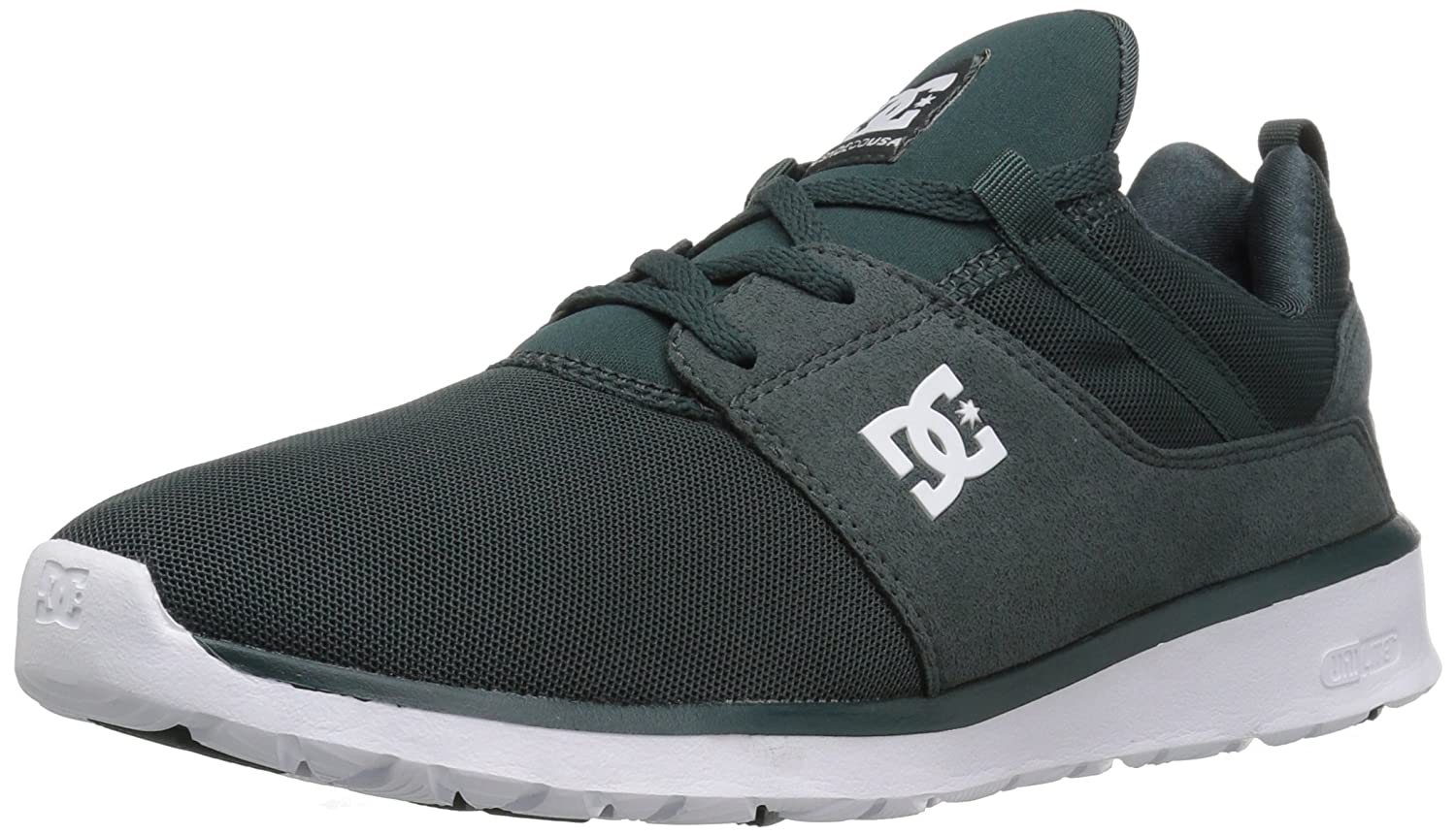 DC Men's Heathrow Casual Skate Shoe B01H4XACEO 4.5 D(M) US|Dark Green