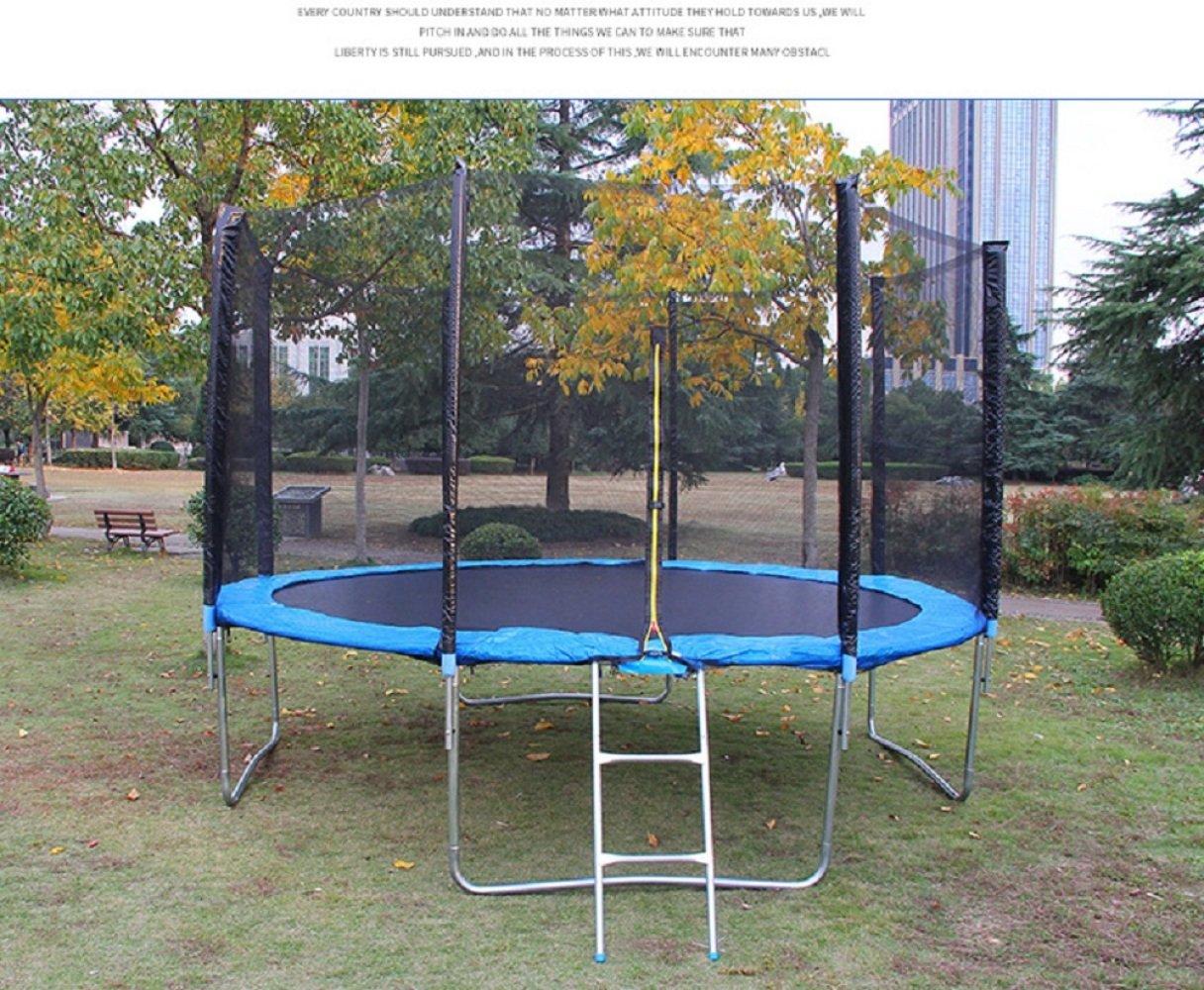 VIO Freien groß angelegte Erwachsene Frühlings-Bett-Kind-Spiel-Kindergarten-springende Bett-Trampoline-Trampolin-Eignungs-Ausrüstung Blau