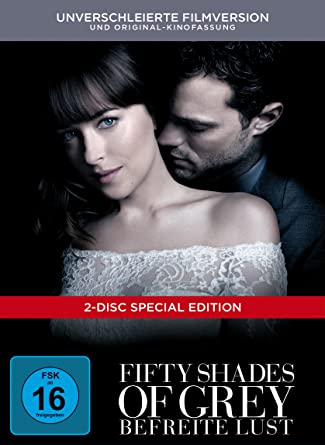Fifty Shades Of Grey Befreite Lust Limited Digibook 2 Dvds Amazon
