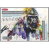 Derwent A3 Watercolour Paper Pad, 12 Sheets