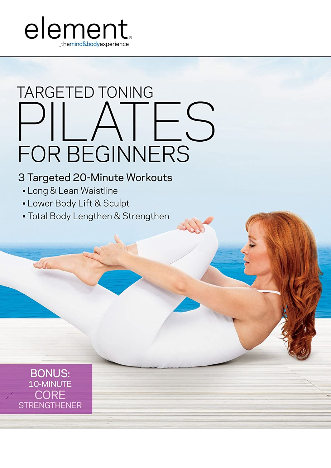 amazon com element targeted toning pilates for beginners
