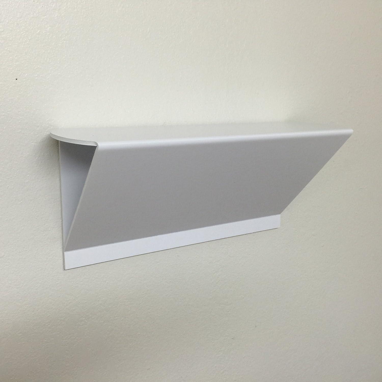Dorm Shelf, No Wall Damage, No Tools Needed (White): Amazon.co.uk ...