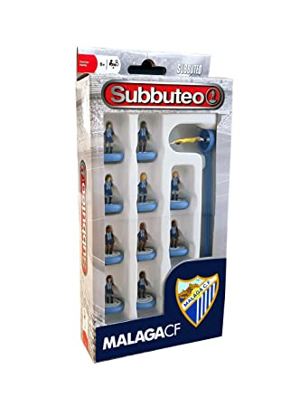 Eleven Force Subbuteo Teambox Málaga CF (63799), Multicolor, Ninguna