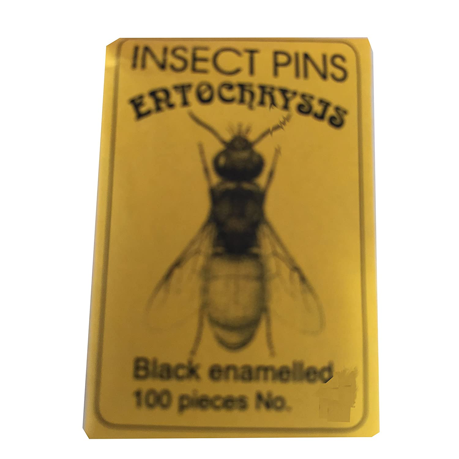 Entochrysis black mounting insect pins 100 pcs size 1 entomology butterflies