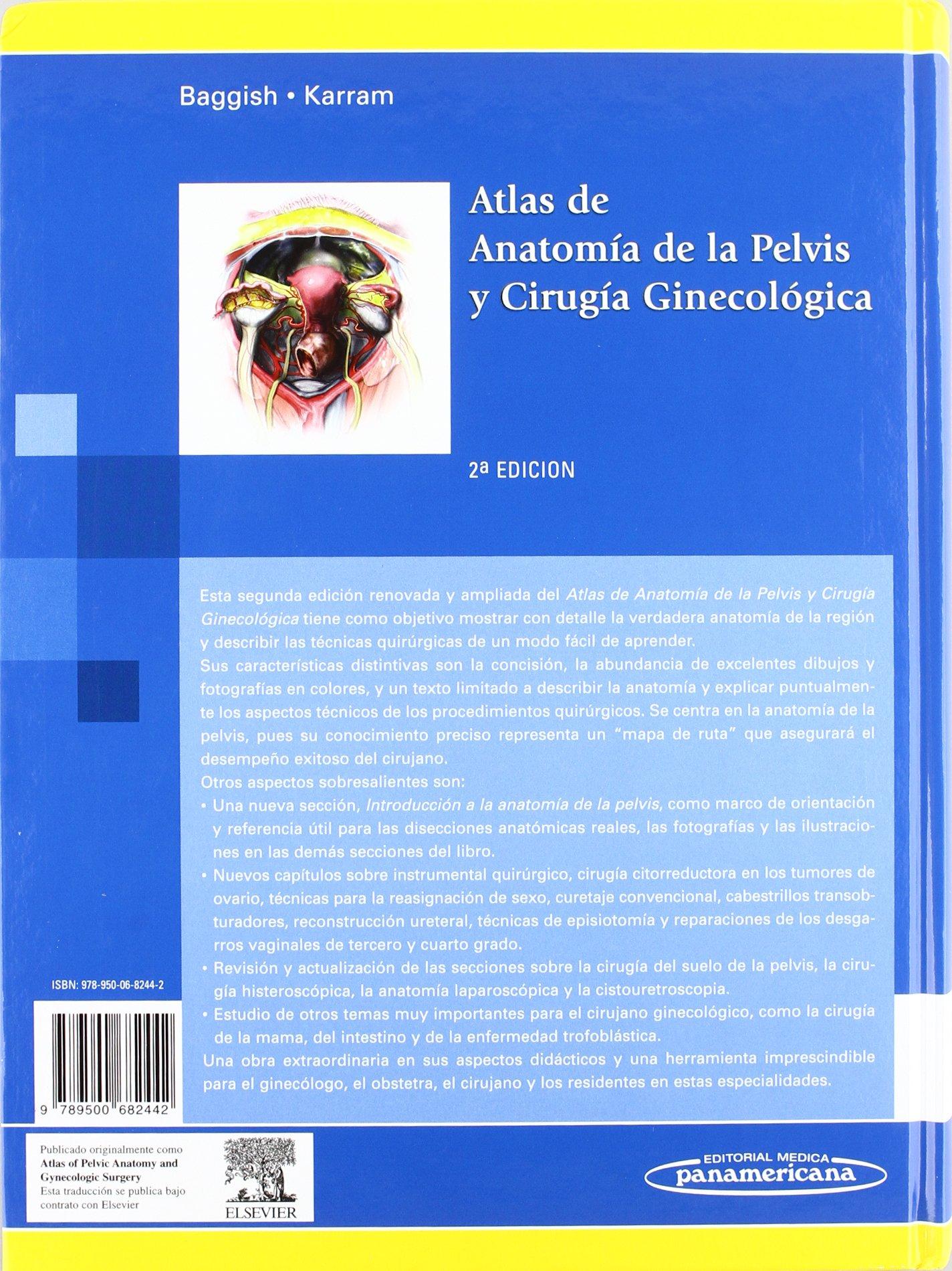 Buy Atlas de anatomía de la pelvis y cirugía ginecológica / Atlas of ...