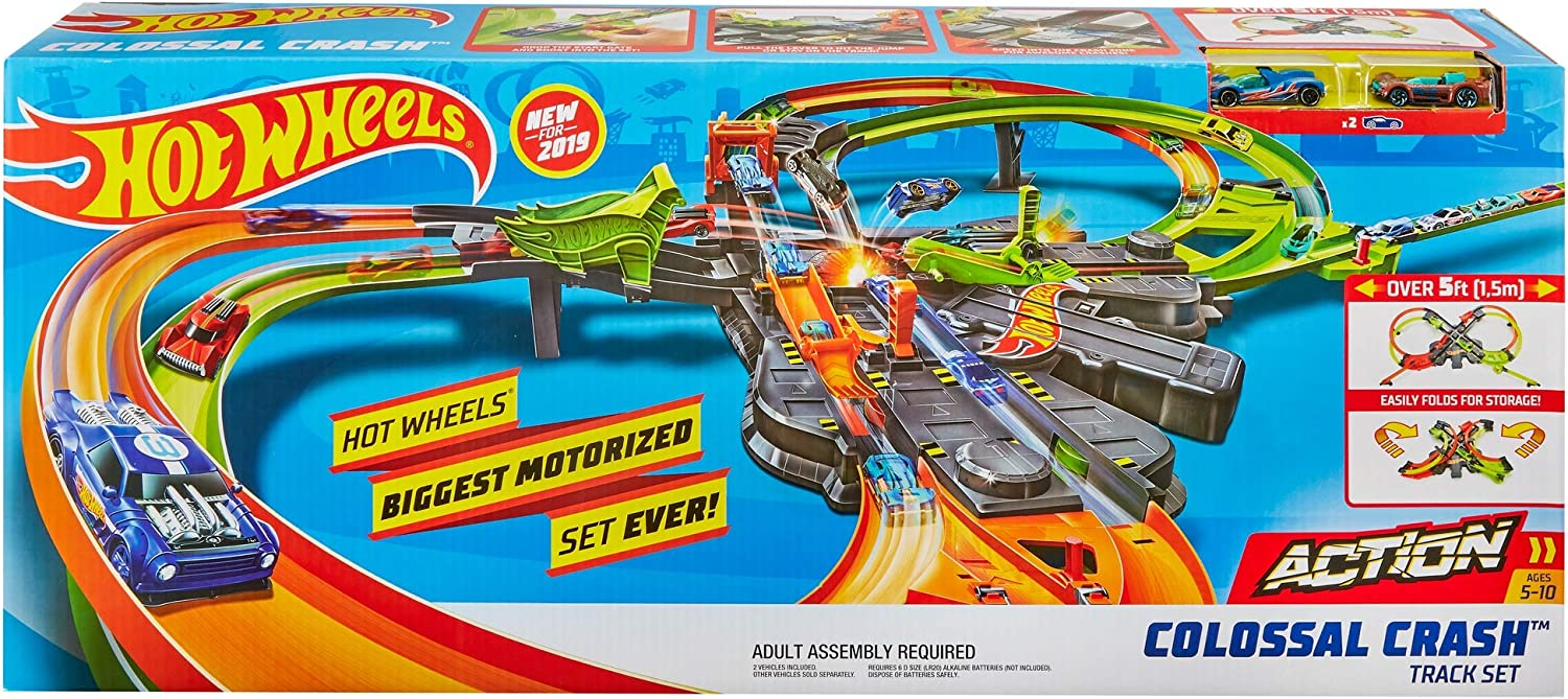 Hot Wheels Action Gigantische Botsing Speelset online