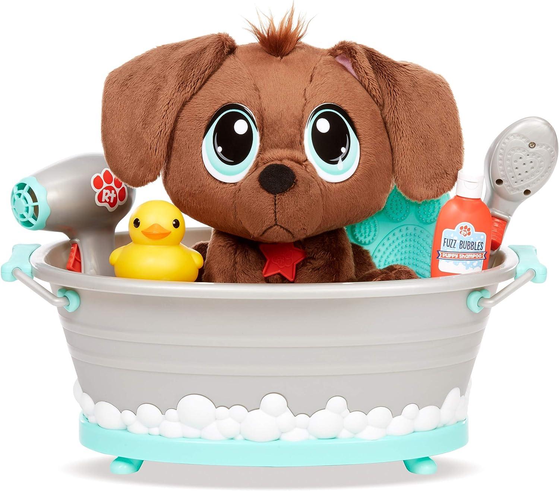 little tikes rescue tales scrub 'n groom bathtub playset w/ plush pet toy