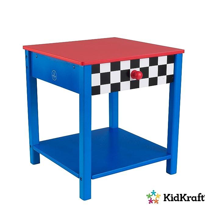 Amazon.com: KidKraft coche de carreras mesa auxiliar: Toys ...