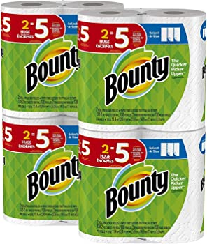 3-Pack Bounty Select-a-Size 8-Count Huge Paper Towels
