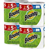 Bounty 纸巾,白色, 新 Huge Roll, 8 Count 8