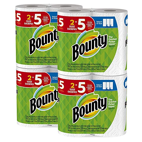 picture of Bounty Select-A-Size, 8 Rolls