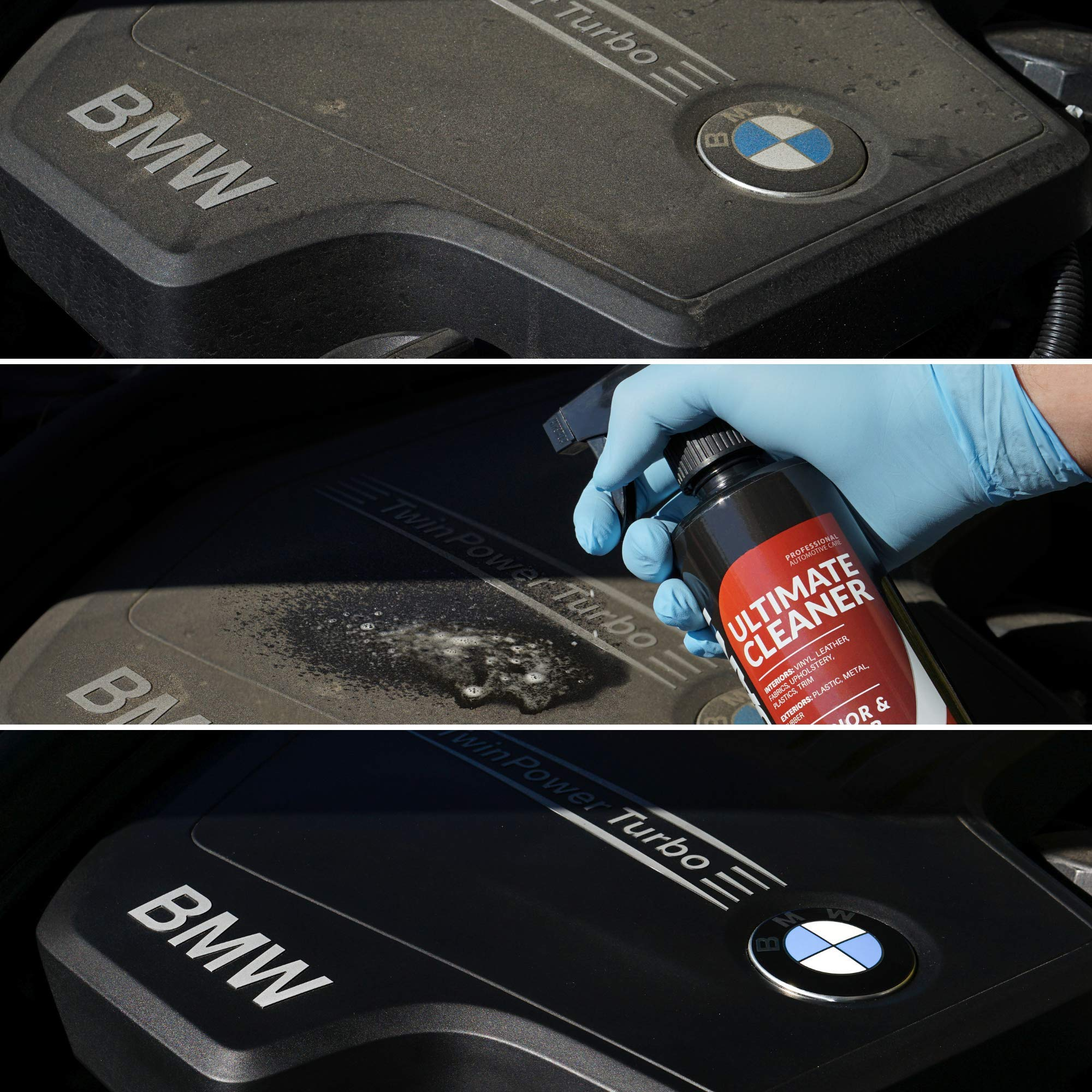 Carfidant Ultimate Car Interior Cleaner - Automotive Interior & Exterior Cleaner All Purpose Cleaner for Car Carpet Upholstery Leather Vinyl Cloth Plastic Seats Trim Engine Mats - Car Cleaning Kit by Carfidant (Image #2)