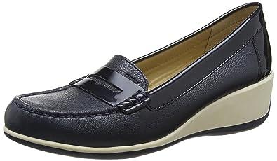 Geox D Arethea B, Mocassins Femme  Amazon.fr  Chaussures et Sacs 34392cf226cb