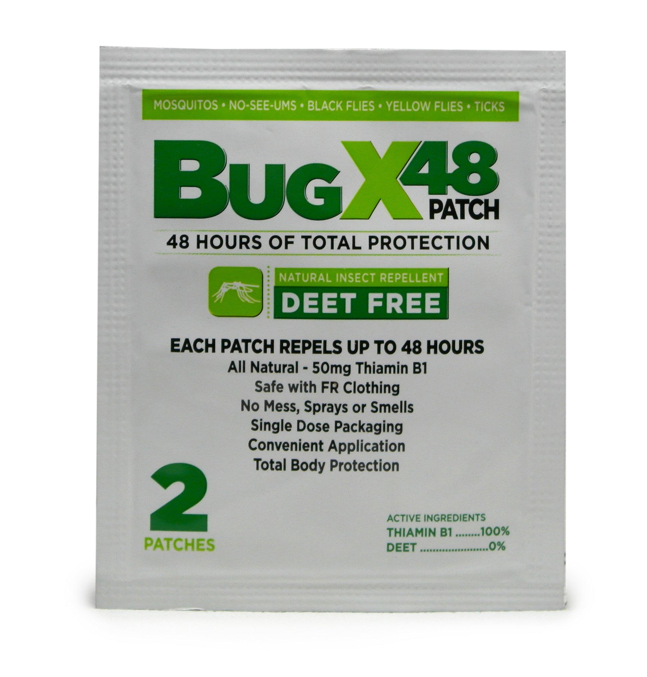 CoreTex 13843 BugX 48 Patch Natural Insect Repellent 100/EA