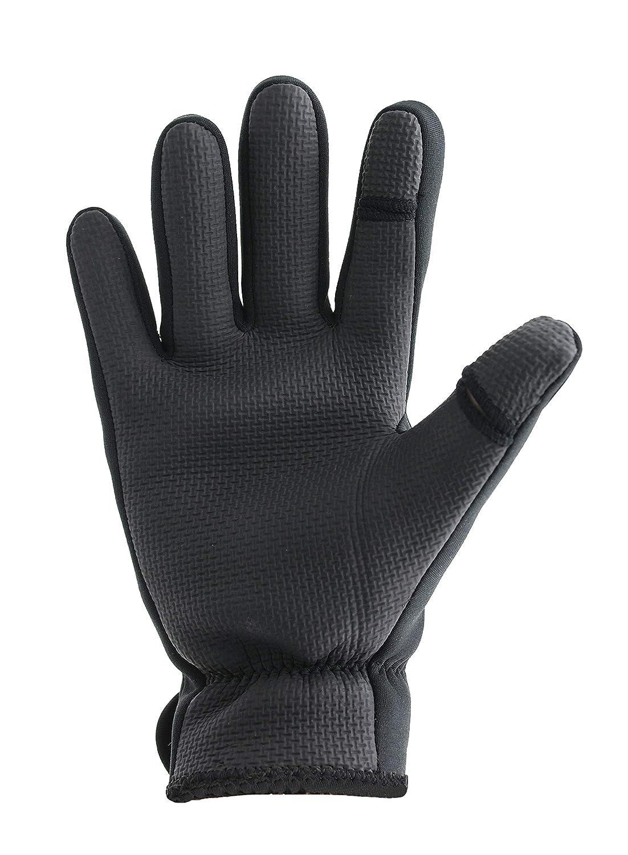 Pro Climate Schwarze Neopren Herren Handschuhe