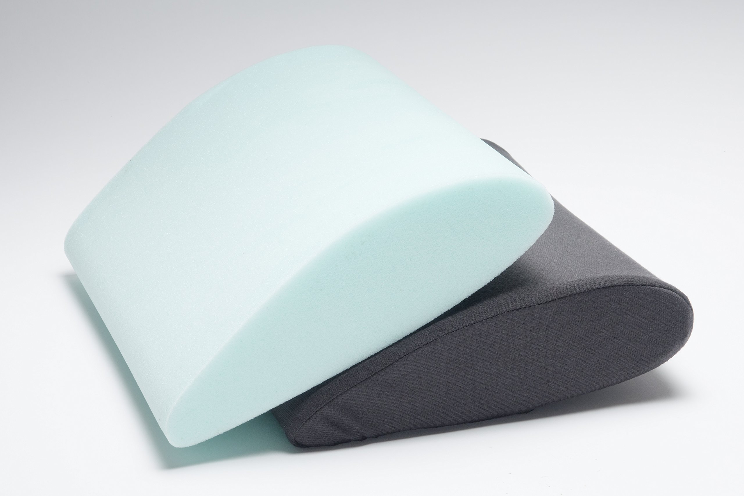 SITTS Posture Teardrop Serene in Firm or Soft Back Support Pillow. Enjoy Pain-Free Sitting with Memory Foam That is Highly Resilient. Microscopic Air Bubbles w/o Flattening Out