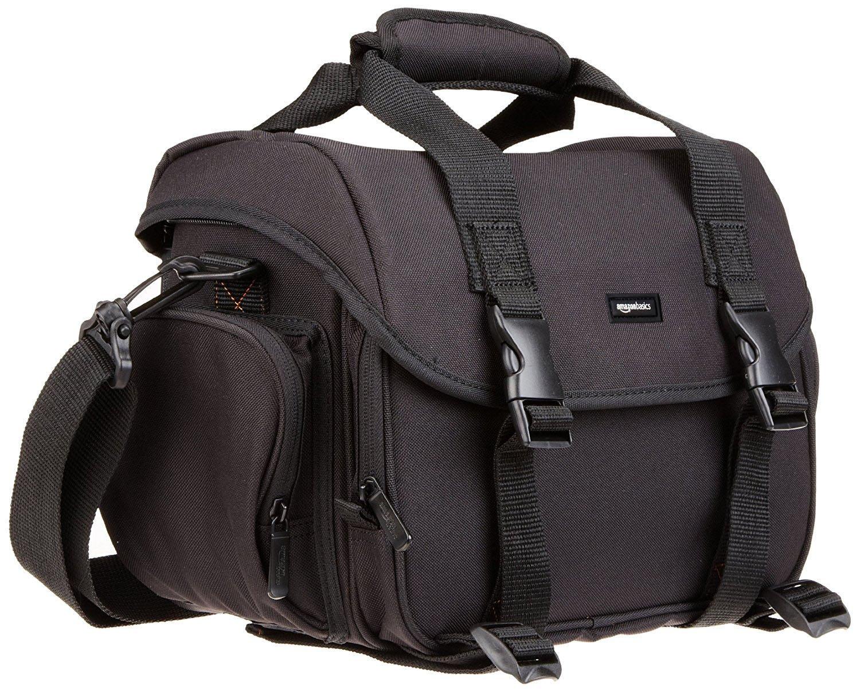 AmazonBasics Large DSLR Gadget Bag (Gray interior)