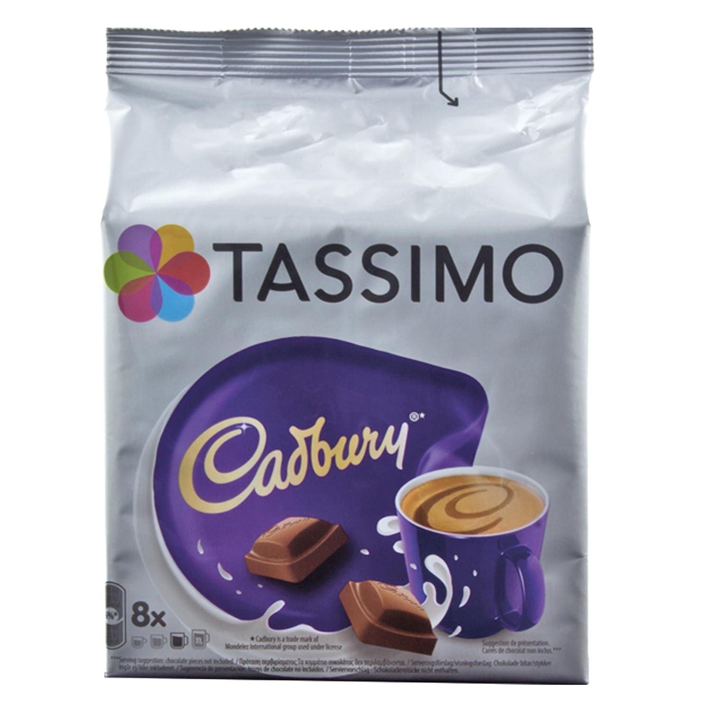 Tassimo Cadbury Hot Chocolate 8 Servings Now Even More