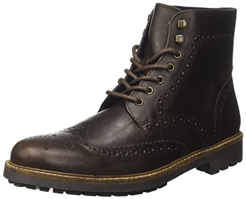 f49ea07f50d086 Red Tape Mens Whitwell Dark Brown Casual Boot, Brown (Brown), 7 UK