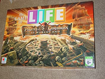 Milton Bradley Pirates of The Caribbean 3: The Game of Life by ...