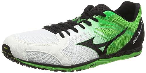 Mizuno Wave Ekiden 9 Mens Running Shoes White Green COMUK5513