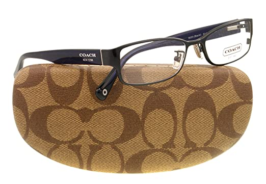 7dd0979d563 Amazon.com  Coach Women s HC5031 Eyeglasses Black 53mm  Coach  Clothing