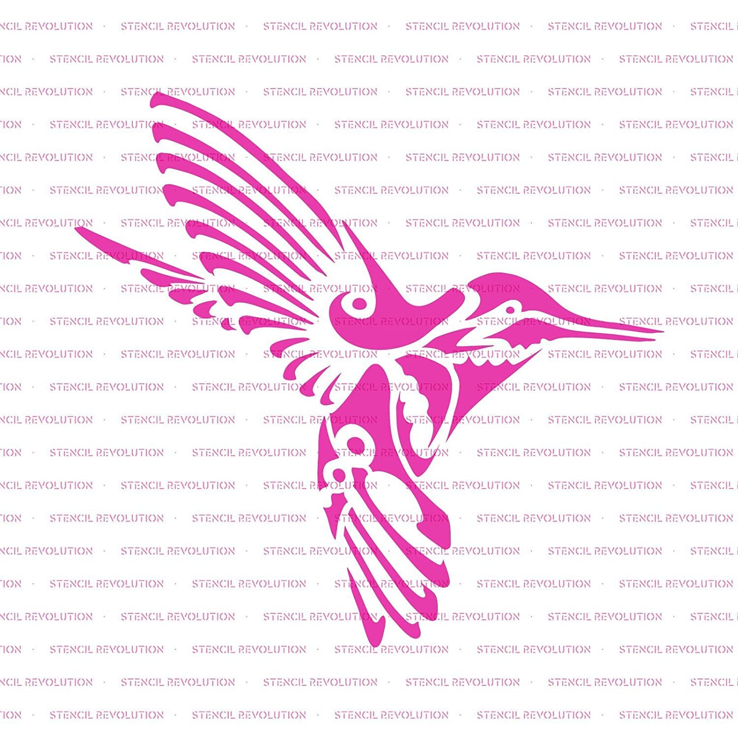 Amazon Hummingbird Deco Stencil Template For Walls And Crafts