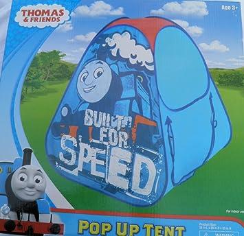 Thomas u0026 friends pop up tent  sc 1 st  Amazon.com & Amazon.com: Thomas u0026 friends pop up tent: Toys u0026 Games