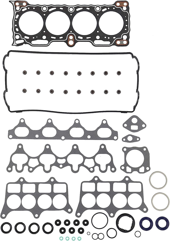 Fits 88-91 Honda Prelude 2.0 DOHC 16V B20A5 Head Gasket Set
