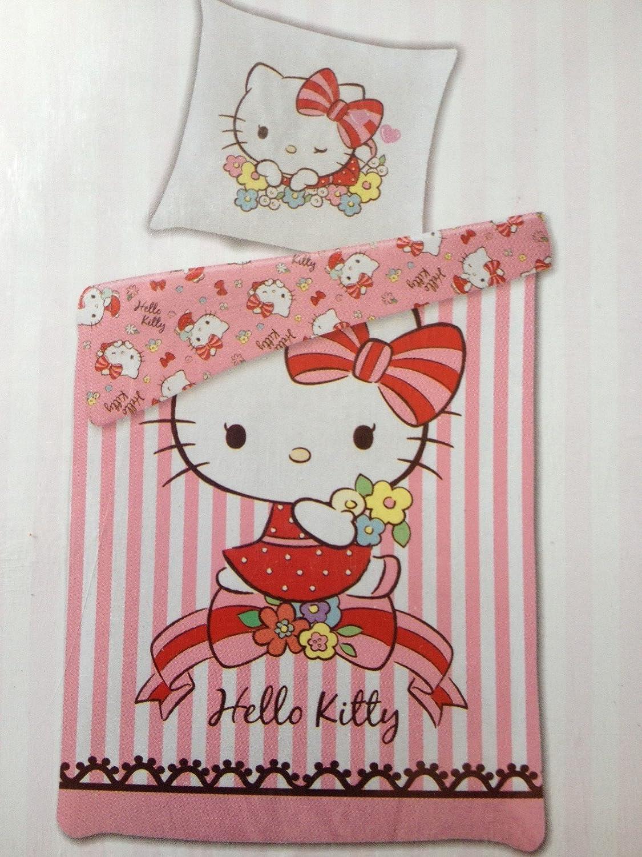 Ropa de cama Hello Kitty Funda Almohada 135 x 200 cm 80 x 80 ...