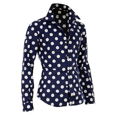 ドット柄 シャツ メンズ 水玉 シャツ メンズ ドレスシャツ カジュアルシャツ 総柄