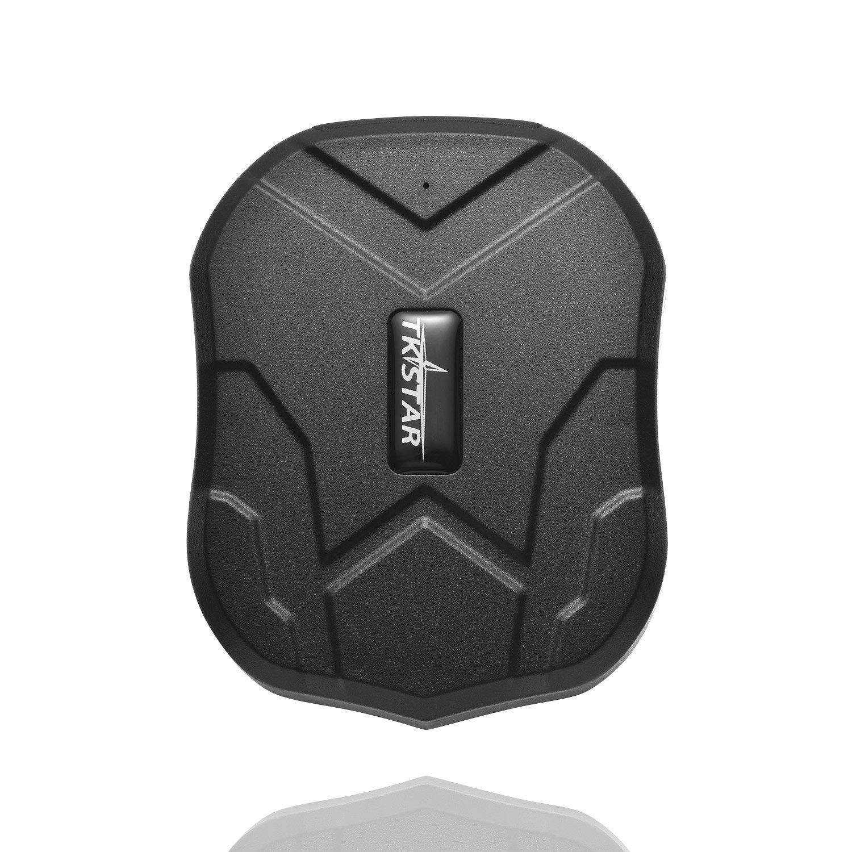 juneo TKSTAR 3 meses inactivo Real Time Protecció n antirrobo Rastreador GPS para vehí culos con imá n Potente 5000 mAh baterí a tk905