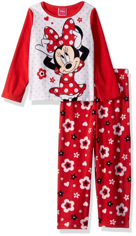 Disney Girls Minnie Mouse 2-Piece Fleece Pajama Set 21MW326TLLDZ