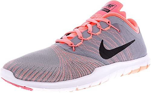 85d86816e Nike Flex Adapt, Scarpe Stringate Donna Multicolore Multicolore,  (Hellgrau-Koralle),