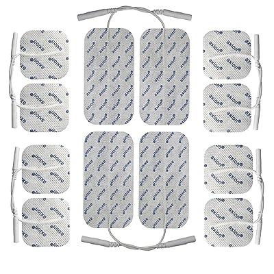 Axion 12 électrodes 4 x 10*5 cm + 8 x 5*5 cm - pour les électrostimulateurs TENS ECO 2