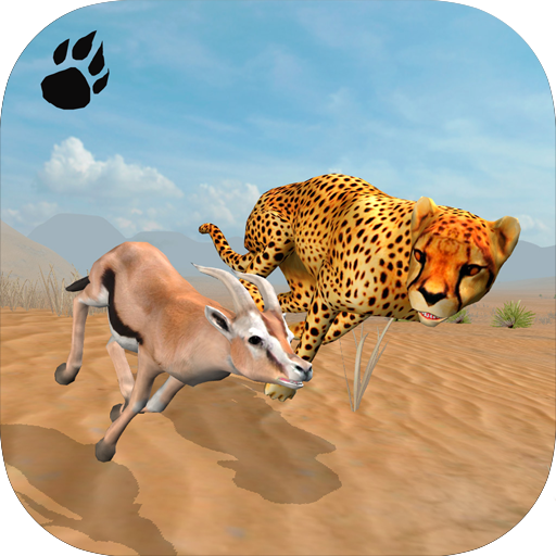 Cheetah Chase Simulator - Wolf Chase