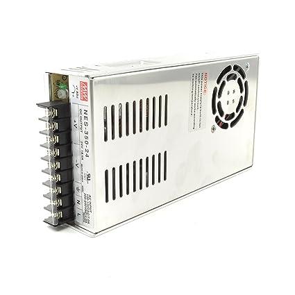amazon com mean well nes 350 24 24v 350 watt ul switching power