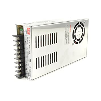 amazon com mean well nes 350 24 24v 350 watt ul switching power rh amazon com