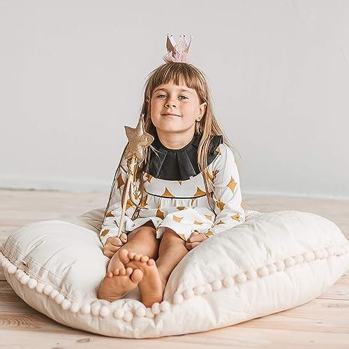 amazon com beige floor pillow for kids