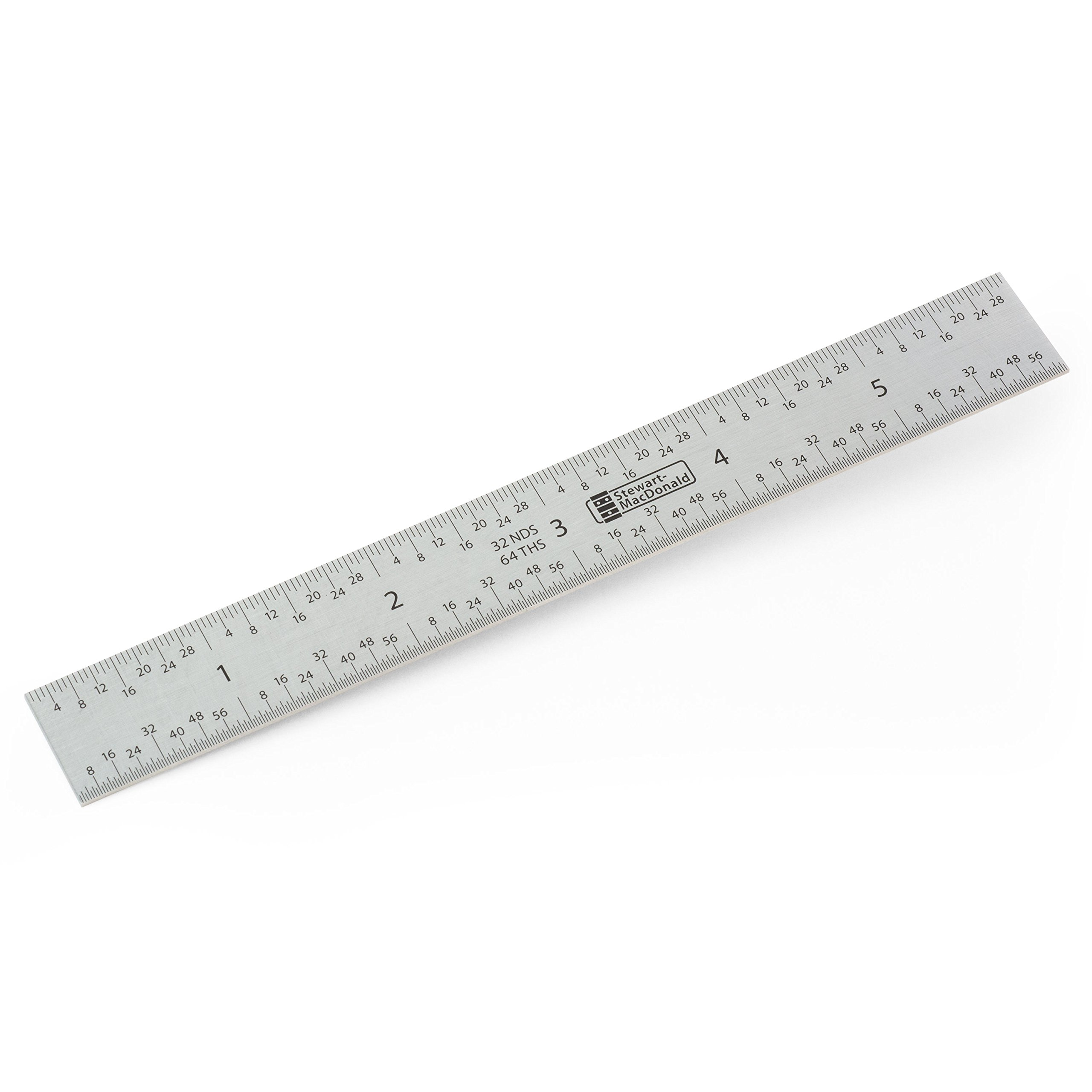 StewMac Shop Rule Precision Ruler, Measures in Inches