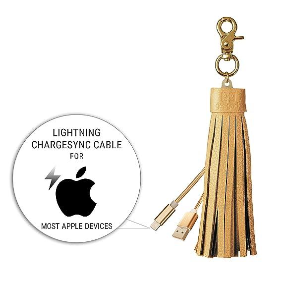 Cable de Carga Micro USB y Cable Lightning Llavero - iPhone ...