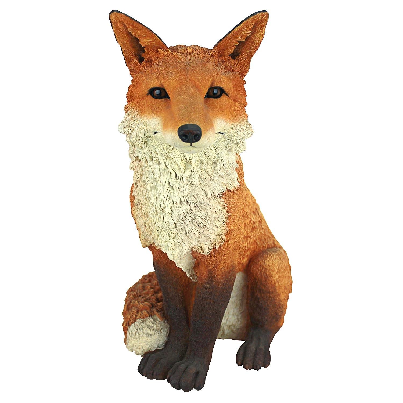 Amazon.com : Design Toscano Simon The Fox Garden Statue : Outdoor Statues :  Garden U0026 Outdoor