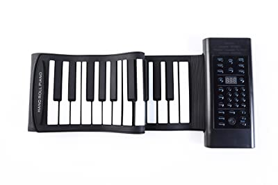 Portable 61 Key Roll Up Piano