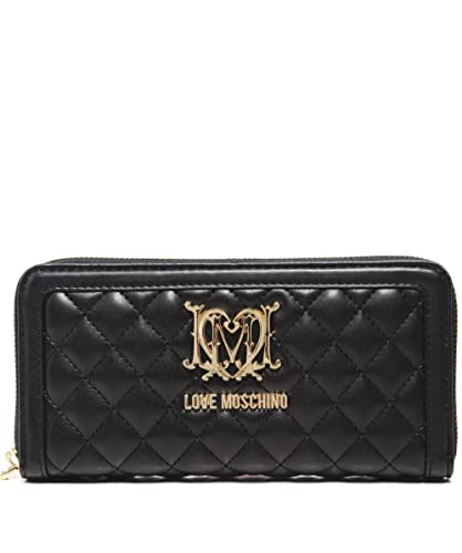 dea70aaf813 Amazon.com: Moschino Love Moschino Women's Quilted Logo Purse Black One  Size: Shoes